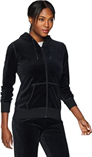 Starter Women's Velour Track Jacket with Hood, Amazon Exclusive