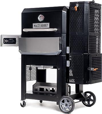 Masterbuilt MB20040221 Gravity Series 800 Griddle + Grill + Smoker, Black