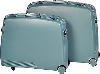 ماجلين حقائب سفر بعجلات للجنسين، اخضر