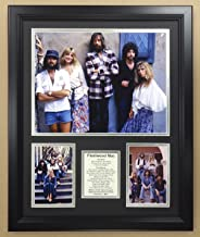 Legends Never Die Fleetwood Mac Double Matted Photo Frame, 18