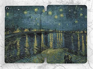 Van Gogh Bridge Paint Case For Apple iPad Mini 1 2 3 4 5 iPad Air 2 3 iPad Pro 9.7 10.5 11 12.9 inch iPad 9.7 inch 2017 2018 2019