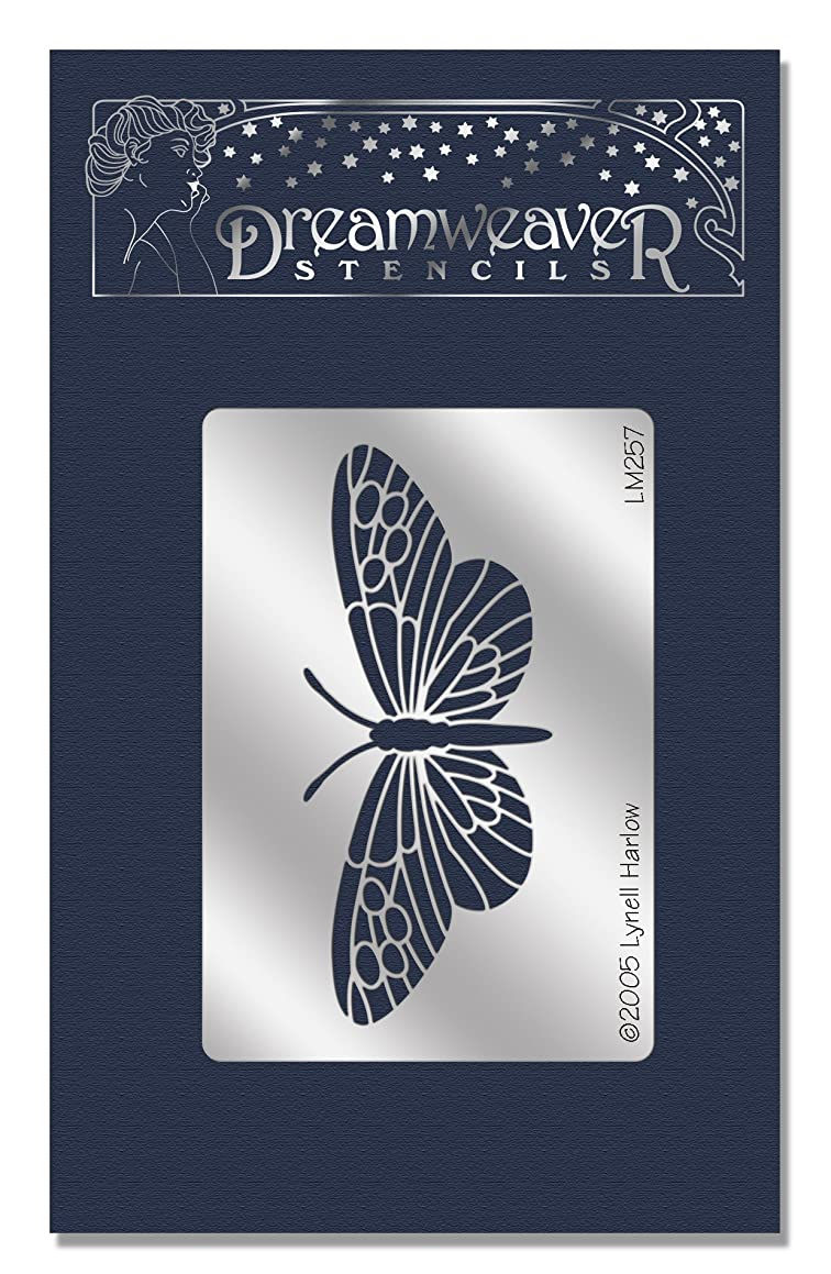 Stampendous Dreamweaver Metal Stencil, Heliconia Butterfly