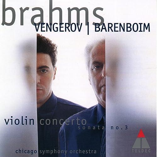 Brahms : Violin Concerto & Violin Sonata No.3