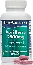 Bayas de Acai - Apto para Veganos - 120 Cápsulas -