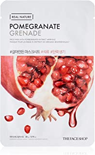 The Face Shop Real Nature Pomegranate Face Mask Sheet, 20 g