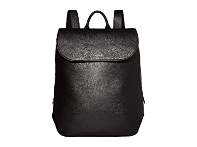 Lipault Paris Invitation Medium Laptop Backpack (Black) Backpack Bags
