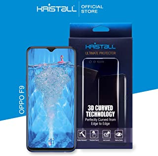 Oppo F9 Screen Protector - Kristall Ultimate Protector TPU Film Screen Protector Compatible with Oppo F9 Smartphone Not Tempered Glass (Ultra Thin 0.15mm Thickness, Self-Healing Elastic Material, Tru