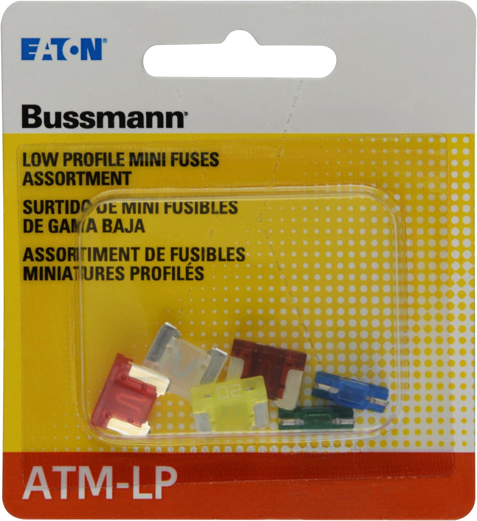 Bussmann (BP/ATM-A6LP-RP) ATM-LP Low Profile Fuse Assortment - 6 Piece