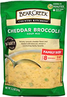 Bear Creek Soup Mix, Cheddar Broccoli,11.2 Ounce (Pack of 6)