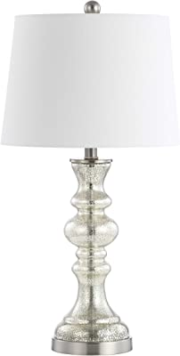 Safavieh TBL4204A Lighting Collection Jaiden Mercury 27-inch Table Lamp, H