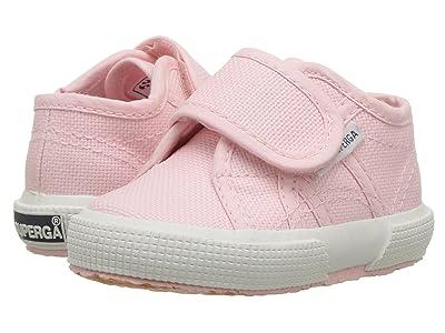 Superga Kids 2750 JVEL Classic (Infant/Toddler) (Pink) Girl