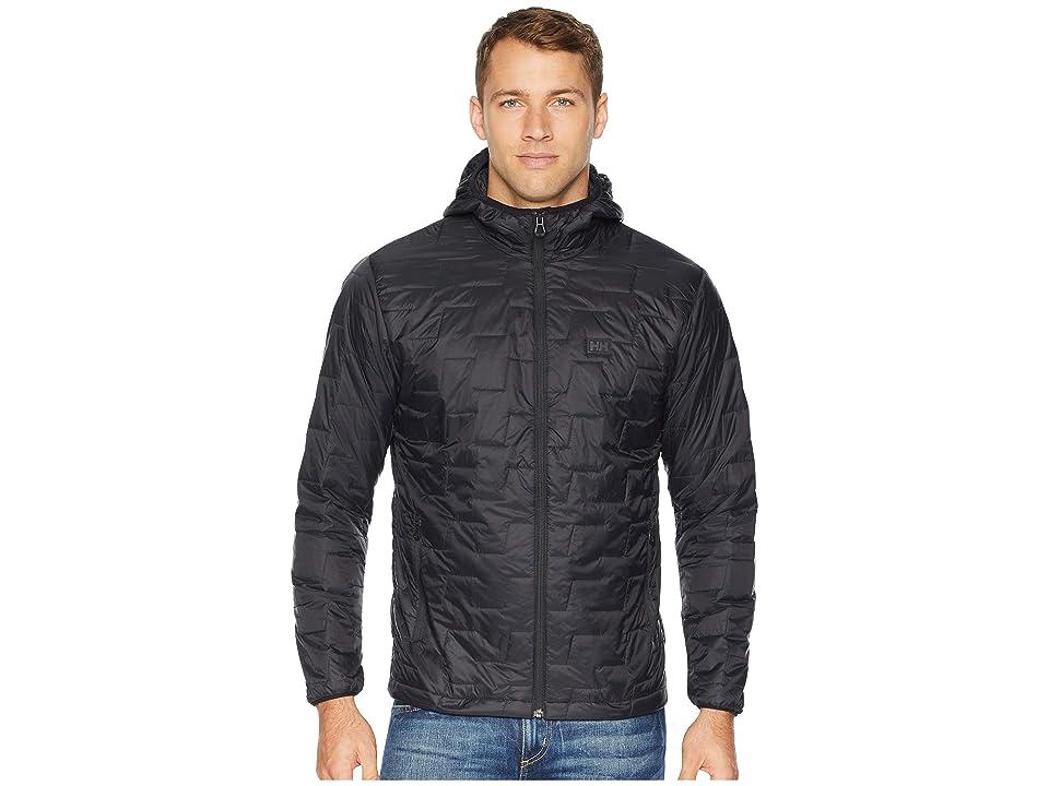 Helly Hansen Lifaloft Hooded Insulator Jacket (Black Matte) Men
