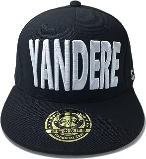 PANDAHAT yandere 3D Puff Embroidery Snapback Hat