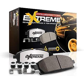 Power Stop Z36-1602, Z36 Truck & Tow Carbon-Fiber Ceramic Rear Brake Pads