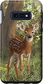 Galaxy S10e Cute Whitetail Deer Fawn in Spring Case