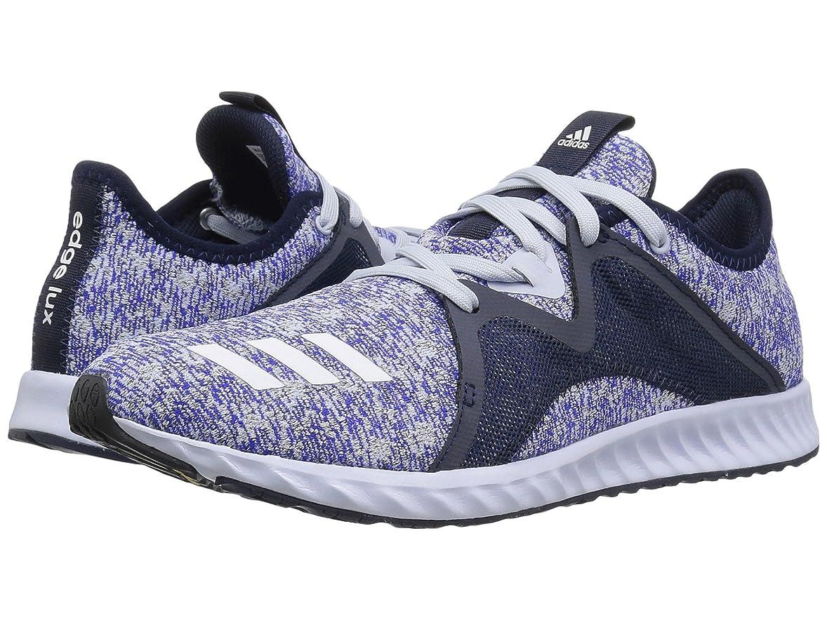 航海低い外出(アディダス) adidas レディースランニングシューズ?スニーカー?靴 Edge Luxe 2 Aero Blue/Collegiate Navy/Footwear White 6.5 (23.5cm) B - Medium