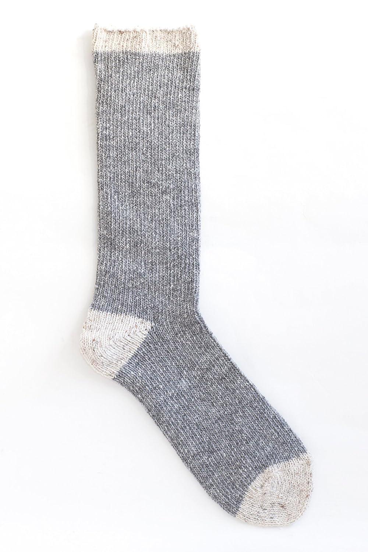SMALL STONE SOCKS スモールストーンソックス 0060 日本製 ソックス 厚手ソックス ウール 編み込み 靴下 締め付けない 快適 ロング ミドル くつ下 コットンリブソックス