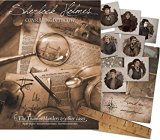 Sherlock Holmes Consulting Detective: The Thames Murders & Other Cases - Includes Character Portraits and Travel Time Map ...