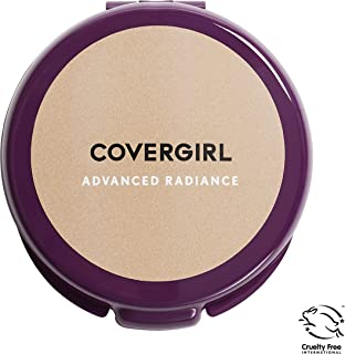 COVERGIRL Advanced Radiance Age-Defying Pressed Powder, Classic Beige 115, 0.39 oz (Packaging May Vary) Conditioning Powder Makeup