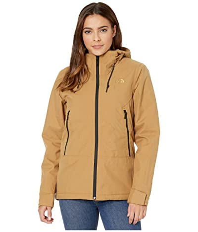 The North Face Inlux Insulated Jacket (British Khaki Herringbone) Women