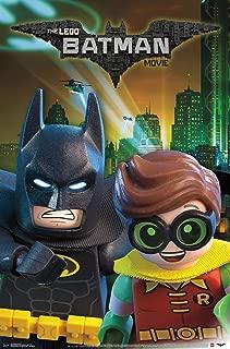 Trends International Lego Batman and Robin Mount Wall Poster, 22.375