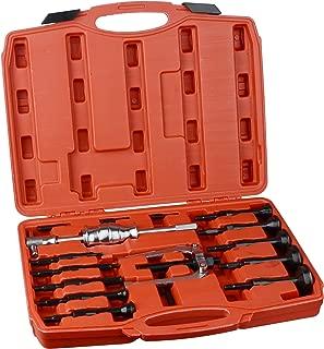 DA YUAN 16 pcs Blind Inner Bearing Puller Hole Remover Extractor Set Slide Hammer Tool Kit