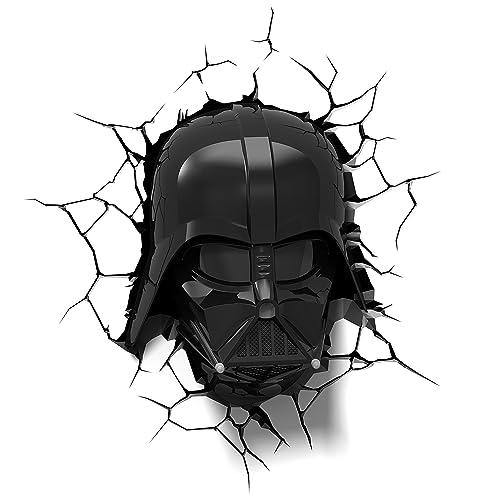 8adb36527 3DLightFX Star Wars Darth Vader Helmet 3D Deco Light