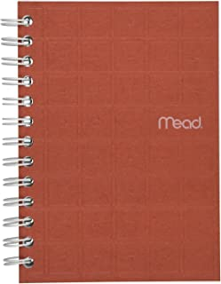 """Mead Spiral Notebook, College Ruled Paper, 80 Sheets, 7"""" x 5"""", Recycled, Assorted Colors, Color Selected For You, 1 Count..."""