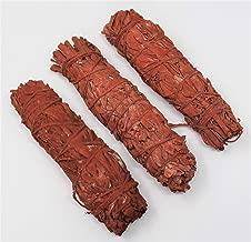 Dragon's Blood Sage smudge stick 3-pack 4