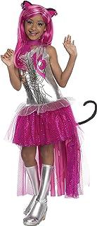 Rubies - Disfraz para niña con diseño Monster High Catty Noir, talla L (3610070)