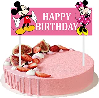 Cool Amazon Com Mickey Mouse Cake Cupcake Toppers Party Supplies Personalised Birthday Cards Vishlily Jamesorg