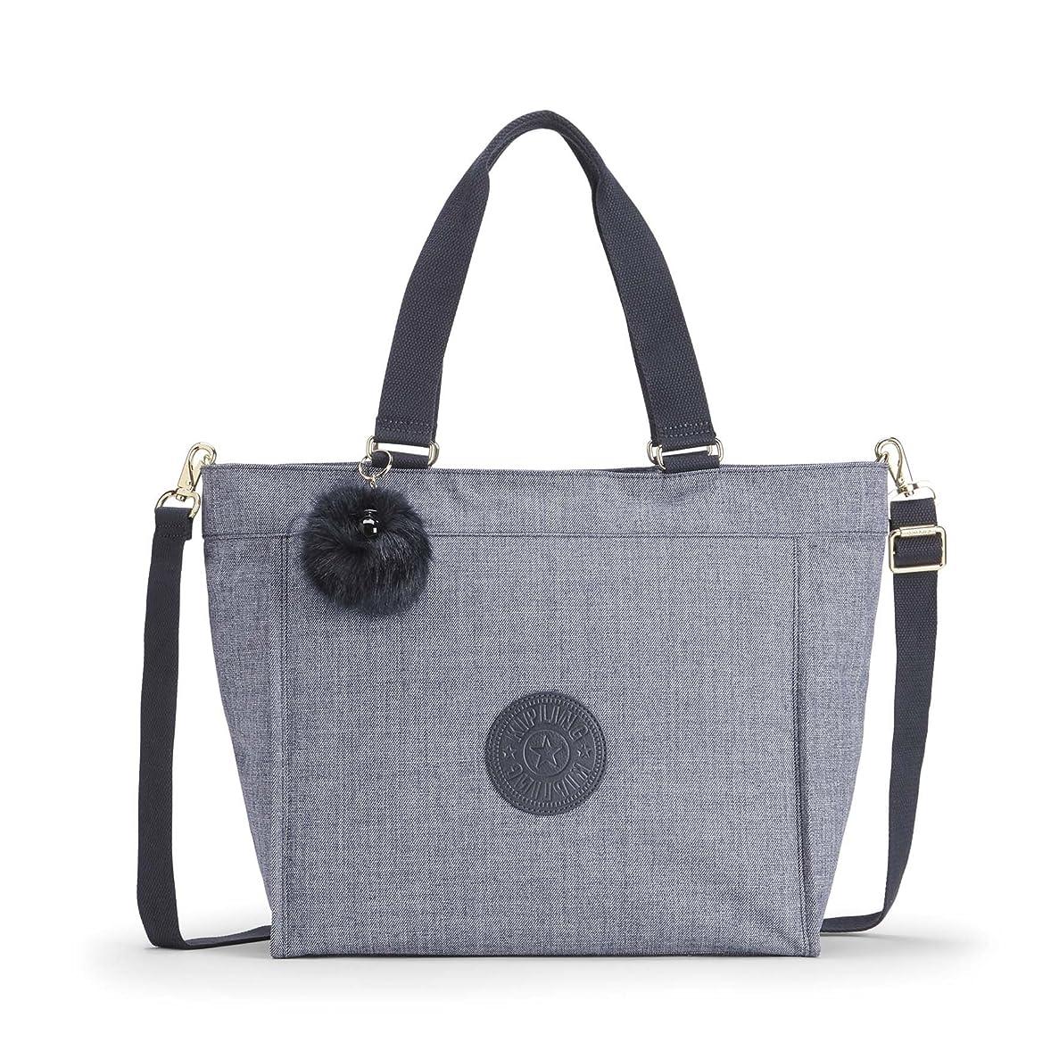 健康的ロードハウス抽象化(Blue (Cotton Jeans)) - Kipling Women's New Shopper L Tote