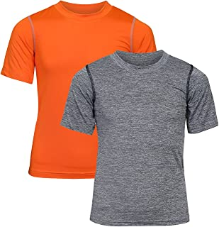Black Bear Boys' Performance Dry-Fit T-Shirts (Pack of 2)
