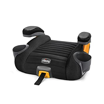 GoFit Plus Backless Booster Car Seat - Iron: image