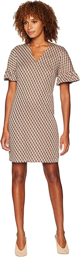 Arc Shoulder Shift Dress