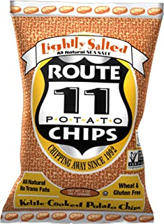 Route 11 Potato Chips : Lightly Salted (30 bags (2 oz each))