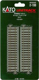 (2 st?ck) HO mått 2–193 rak 149 mm (japansk import/paketet och handboken kommer på japansk)