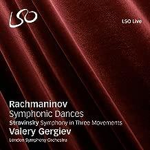 Rachmaninov: Symphonic Dances / Stravinsky: Symphony in Three Movements