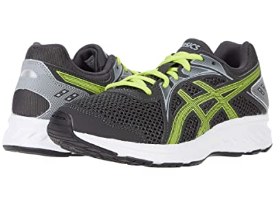 ASICS Kids Jolt 2 (Big Kid) (Graphite Grey/Lime Zest) Boys Shoes