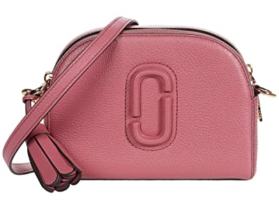Marc Jacobs Shutter Crossbody (Dusty Ruby) Handbags