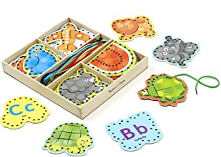 Melissa and Doug Alphabet Lacing Cards 9490 - Arts and Crafts