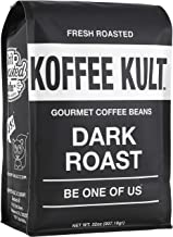Koffee Kult Coffee Beans Dark Roasted – Highest Quality Delicious Organically..