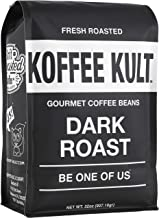 Koffee Kult Dark Roast Coffee Beans – Highest Quality Gourmet – Whole Bean..
