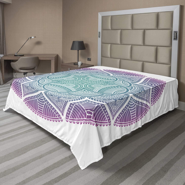 2021 model Lunarable Mandala Flat Sheet Abstract supreme Mi Scales and Flower Dots