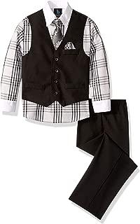 Steve Harvey Boys' Four Piece Vest Set