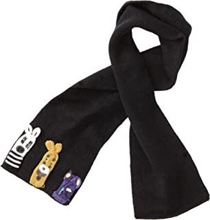 Kidorable Soft Acrylic Knit Scarf, Noah's Ark (Black), One Size Fits Most, for Toddlers, Little Kids, Big Kids