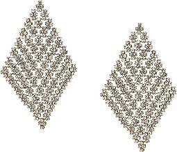 Post Drop Earrings w/ Stones