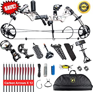 XGeek Compound Bow,Compound Hunting Bow Kit,Limbs Made in USA,19