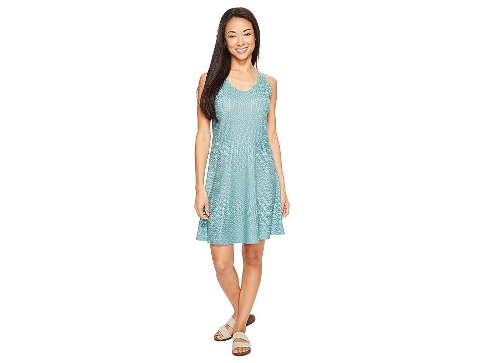 Prana Amelie Dress (Aquamarine Parade) Women