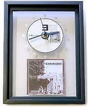EMINEM - The Marshall Mathers LP: FRAMED CD ART CLOCK/Exclusive Design